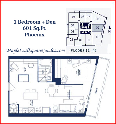 Maple Leaf Square Floor Plans