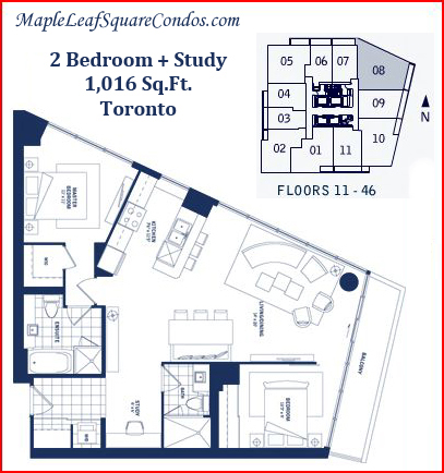 1 Room Apartment For Rent Toronto