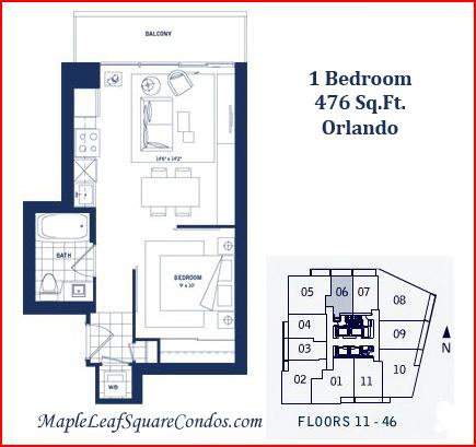Maple Leaf Square Floor Plans